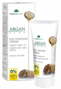 Cosmetic Plant Eye Cream With Argan Oil & Aloe Vera