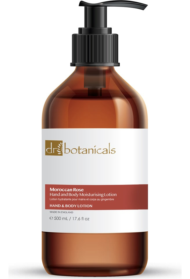 Dr Botanicals Moroccan Rose Hand And Body Lotion