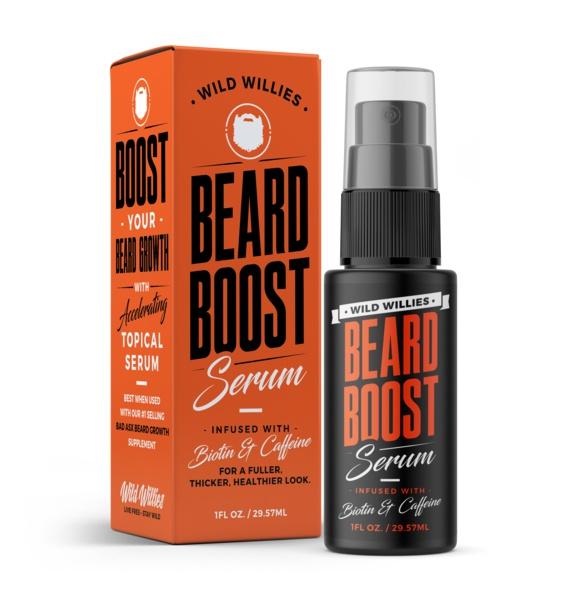 Wild Willies Beard Boost Serum