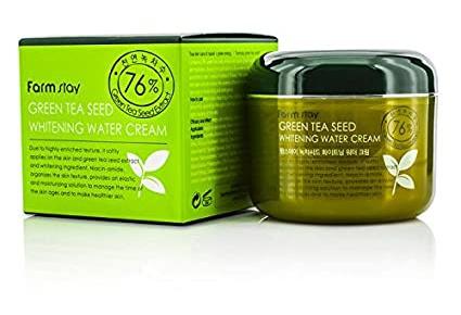 Farm Stay Green Tea Seed Whitening Water Cream