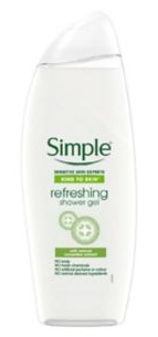 Simple Kind To Skin Refreshing Shower Gel