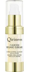 QIRINESS CARESSE REGARD SUBLIME Global Well-Aging Eye & Lip Cream