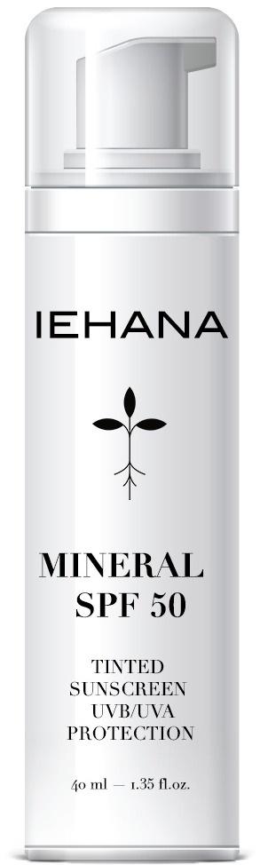 Iehana Mineral SPF 50 Tinted Sunscreen UVA/UVB Protection