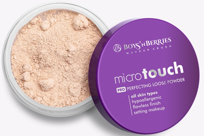 Boys'n berries Microtouch  Pro Perfecting Loose Powder