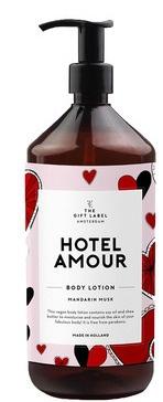 The Gift Label Vegan Body Lotion Mandarin Musk-Hotel Amour