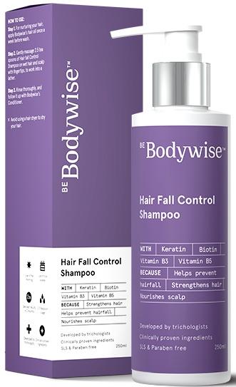 Be Bodywise Keratin Hair Fall Control Shampoo