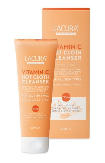 LACURA Vitamin C Hot Cloth Cleanser