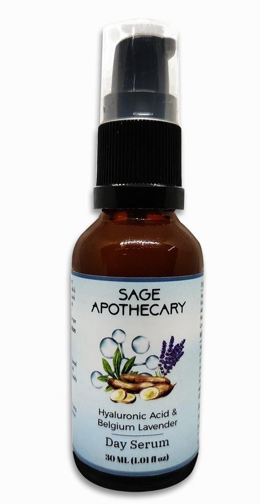 Sage Apothecary Hyaluronic Acid & Belgium Lavender Day Serum