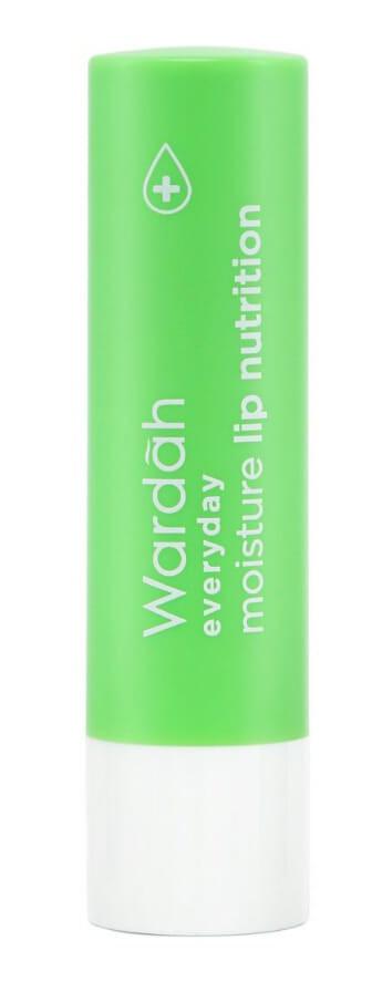 Wardah Everyday Moisture Lip Nutrition Green Tea