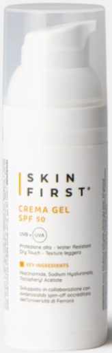 Skin first Crema Gel SPF 50