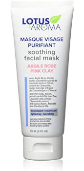 Lotus Aroma Soothing Facial Mask Pink Clay