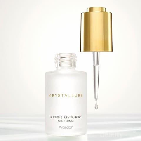 Crystallure by Wardah Supreme Revitalizing Oil Serum