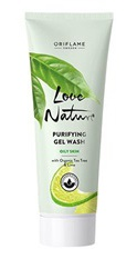 Oriflame Love Nature Purifying Gel Wash For Oily Skin