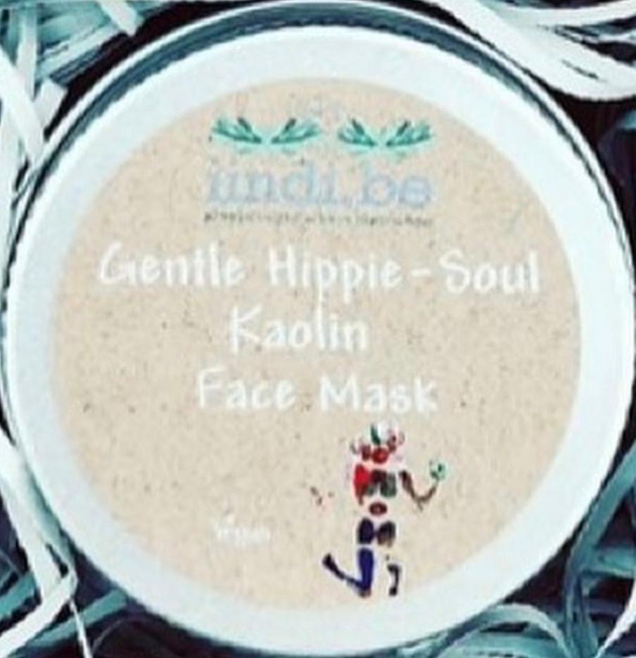 iindi.be Gentle Hippie-Soul Kaolin Face Cleanser