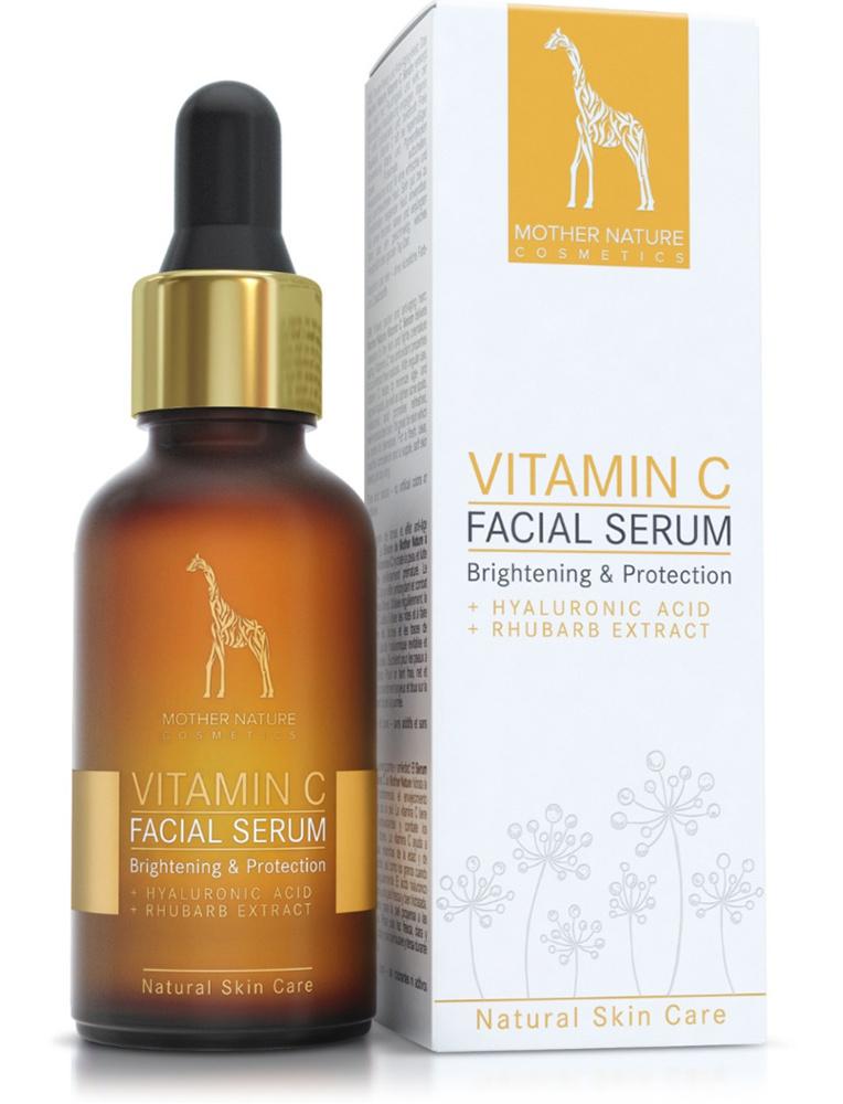 Mother Nature Cosmetics Vitamin C Facial Serum