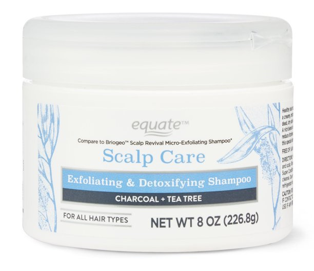 Equate Scalp Care Exfoliating & Detoxifying Shampoo
