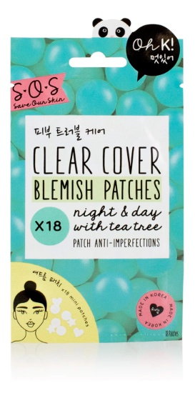 Oh K SOS Clear Cover Blemish Patches