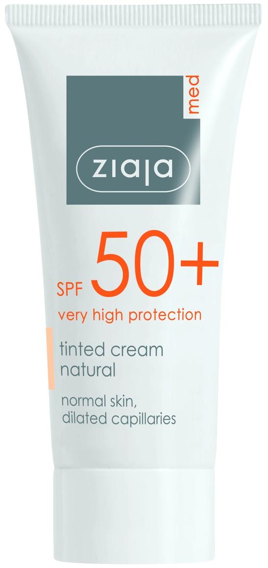 Ziaja Med Tinted SPF 50 Cream Natural