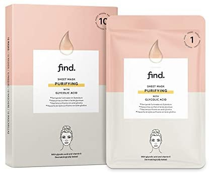 find. Sheet Mask Purifying with Glycolid Acid