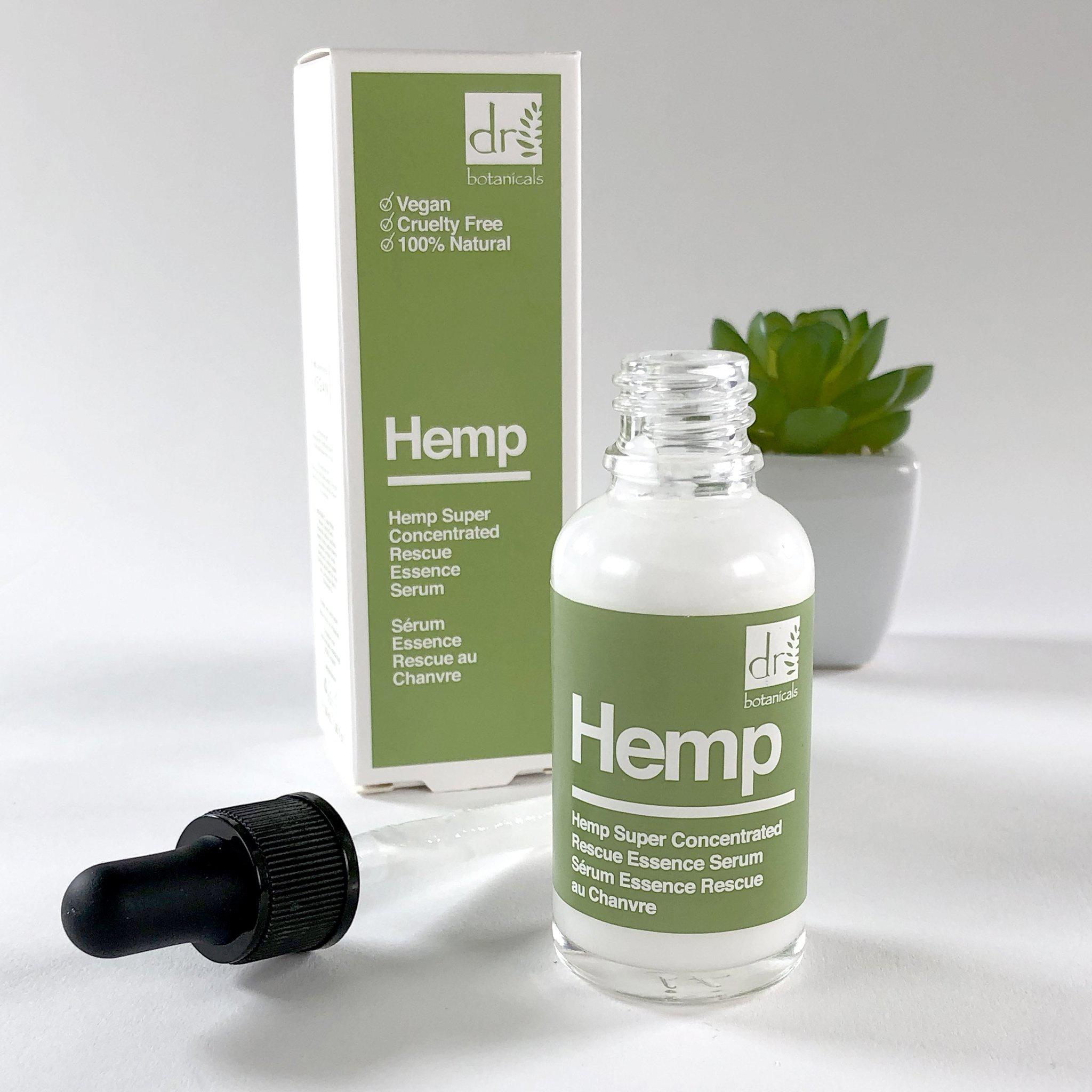 "Dr Botanicals  ""Hemp Super Concentrated Rescue Essence"" Face Serum"