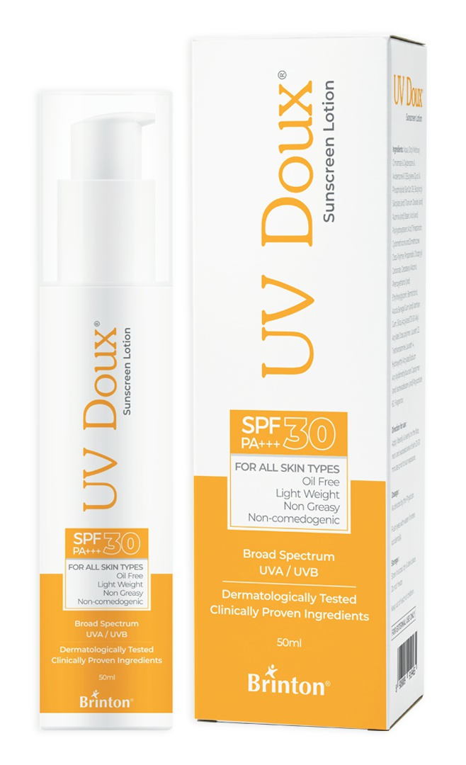 Brinton Duox Sunscreen Lotion With Spf 30 In Oil Free Formula