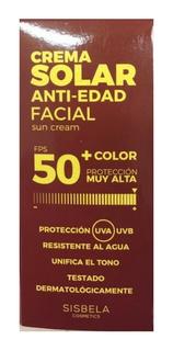 Sisbela Crema Solar Anti Edad Facial 50+