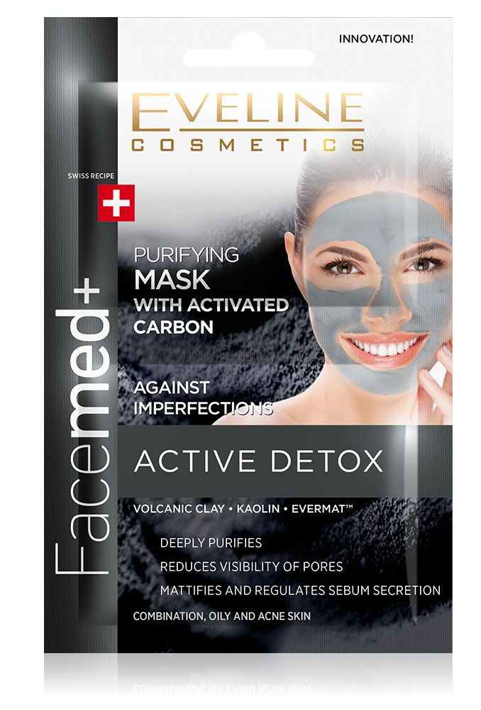 Eveline Purifying Face Mask With Activated Carbon