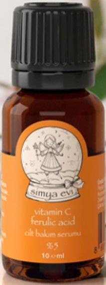 Simya Evi Vitamin C Ferulic Acid Cilt Bakım Serumu (%5)