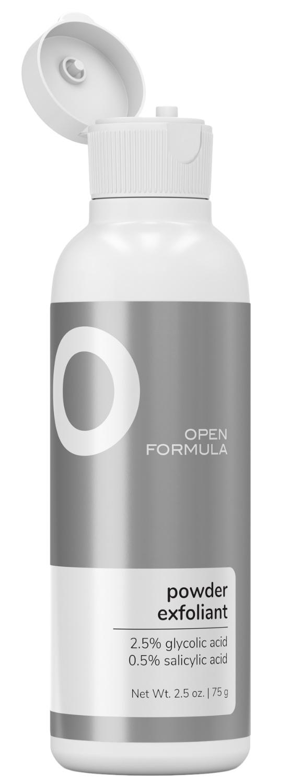 Open Formula Powder Exfoliant (2.5% glycolic + 0.5% salicylic)
