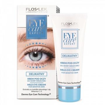 Floslek Eye Care Expert   Mild Eye Cream For Sensitive Skin