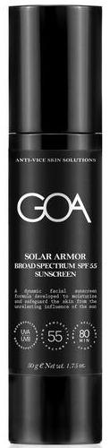 GOA Solar Armor Facial Sunscreen Spf 55