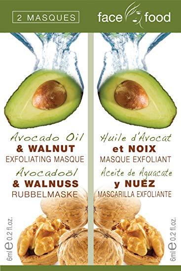Face food Avocado Oil & Walnut Masque