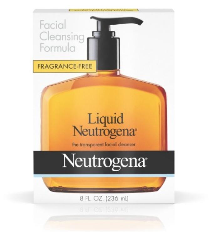 Neutrogena Liquid Neutrogena - The Transparent Facial Cleanser