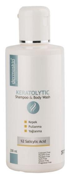 Dermoskin Keratolytic Shampoo & Body Wash