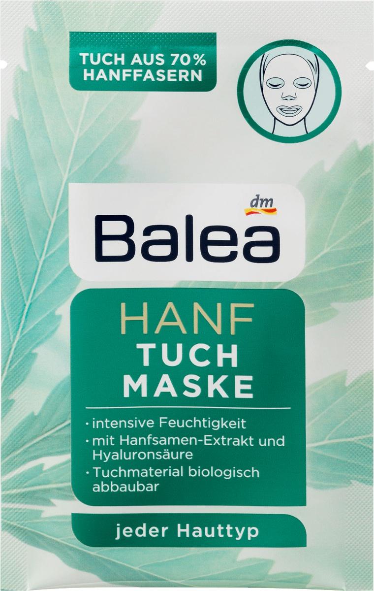 Balea Hanf Tuch Maske