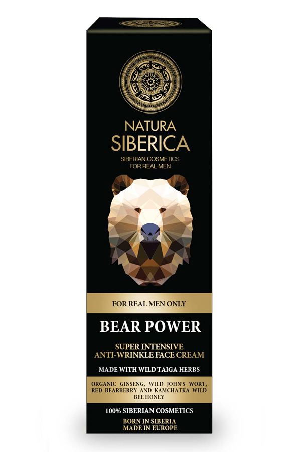 Natura Siberica Bear Power Super Intensive Anti-Wrinkle Face Cream