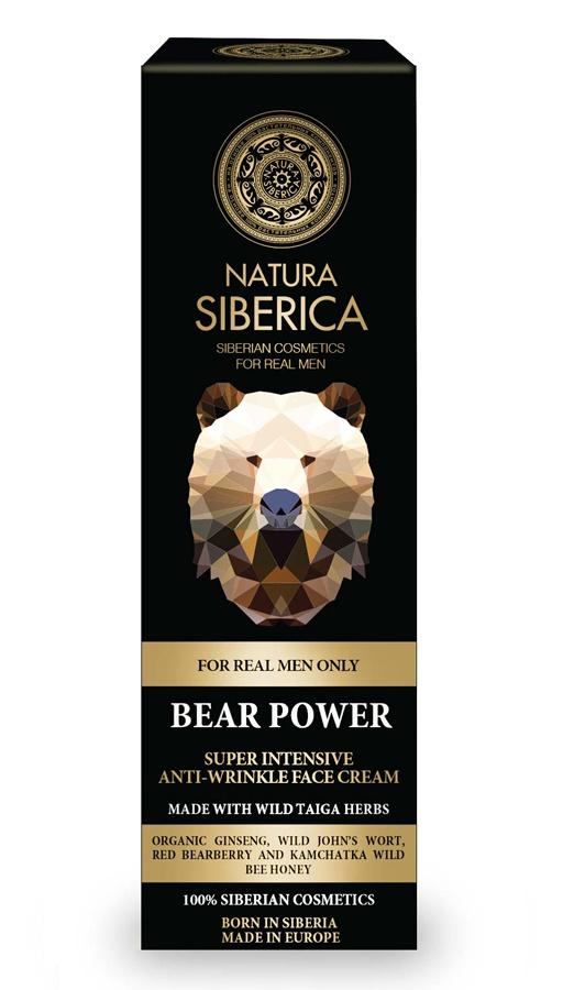 Natura Siberica Bear Power Super Intensive Anti-Wrinkle Face Cream