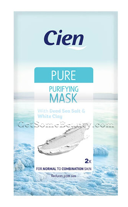 Cien Pure: Purifying Mask With Dead Sea Salt & White Clay
