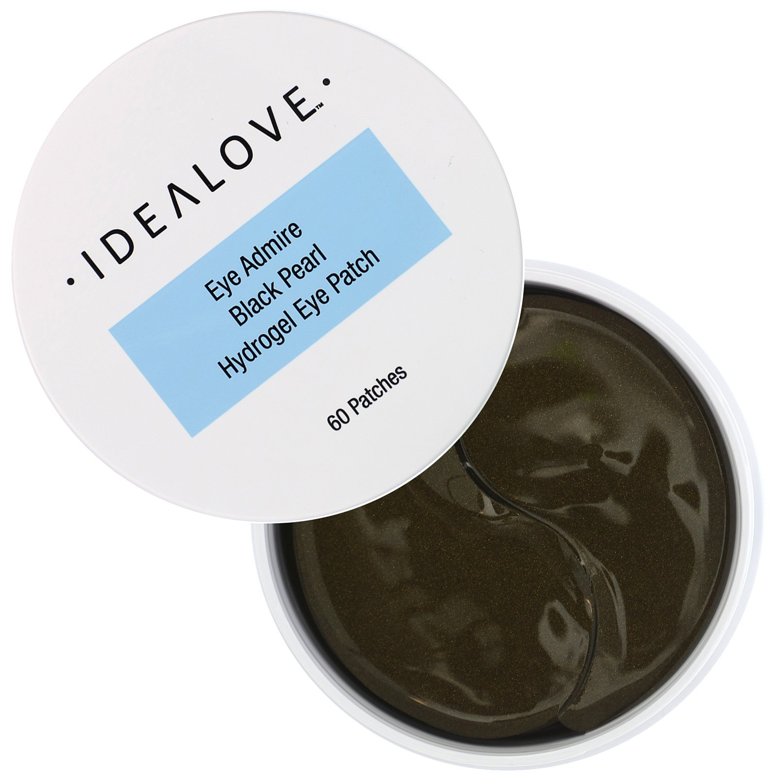 Idealove Eye Admire Black Pearl Hydrogel Eye Patch, 60 Patches