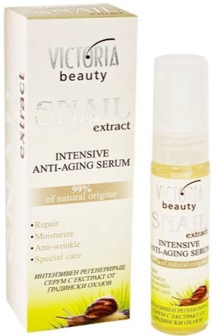 Victoria beauty Snail Extract Intensive Anti-Aging Serum 99%  Of Natural Origine