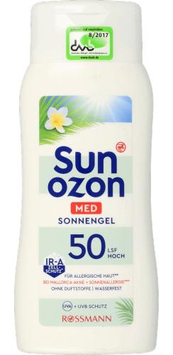 Sun Ozon Med Sonnengel LSF 50