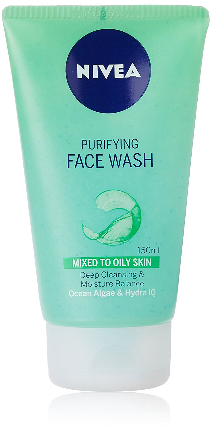 Nivea Purifying Face Wash For Mixed To Oily Skin
