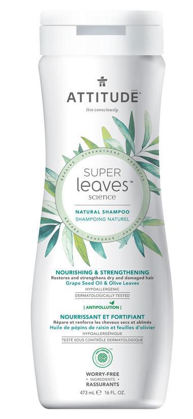 Attitude Shampoo Nourishing & Strengthening