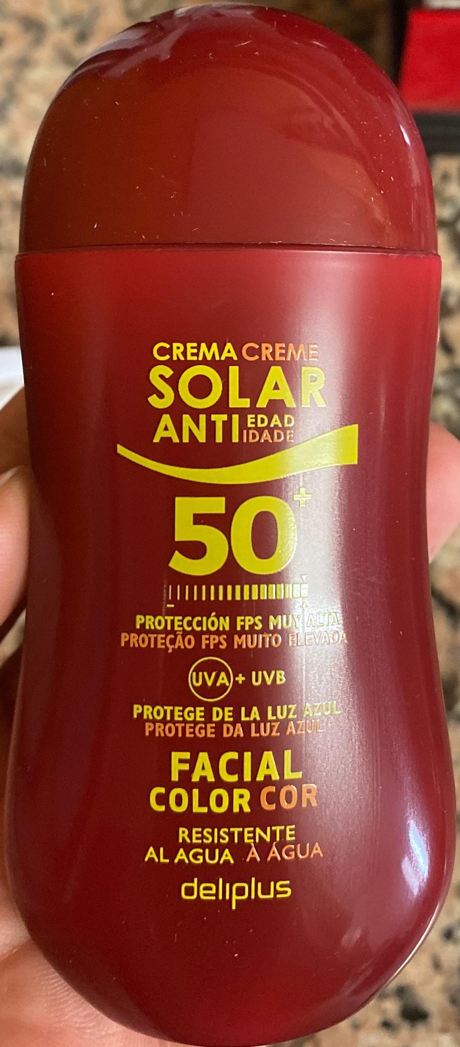 Deliplus Crema Solar Antiedad 50+