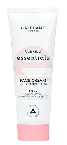 Oriflame Fairness Essentials Face Cream Spf10