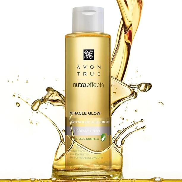 Avon True Nutra Effects Lightweight Cleansing Oil