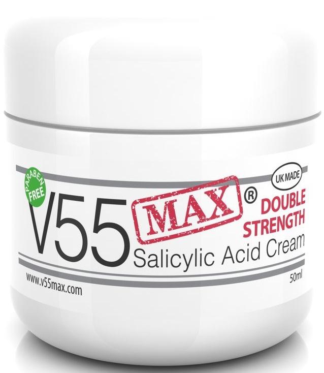 V55 Max Double Strength Salicylic Acid Cream