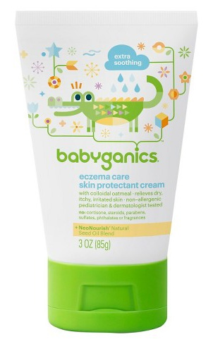 Babyganics Eczema Care Skin Protectant Cream Fragrance Free