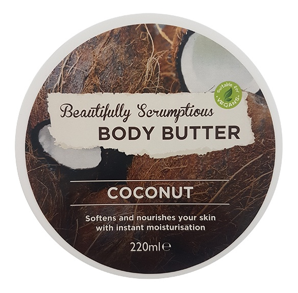 Beautifully Scrumptious Body Butter Coconut