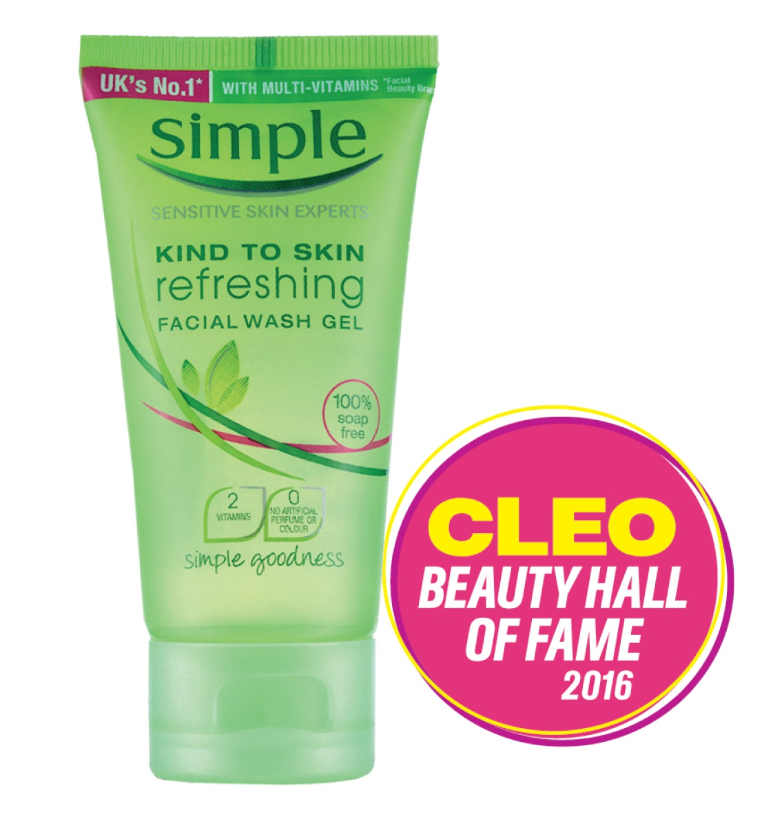 Simple Kind To Skin Refreshing Wash Gel